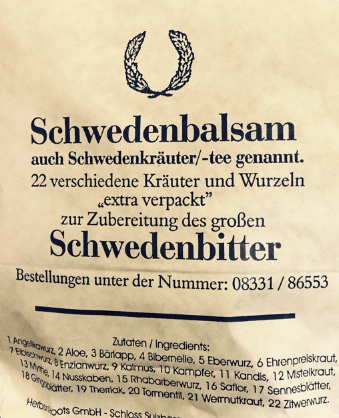 Schweden_Bitter_22_Herbs
