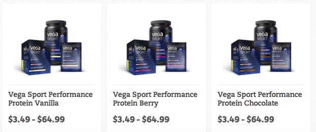 Vega Sport Price