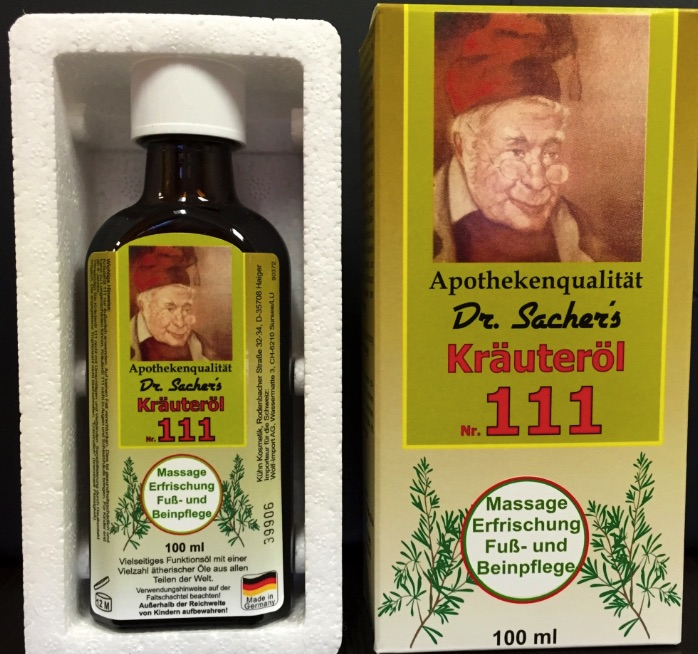 Dr. Sacher's Herbal Oil 111